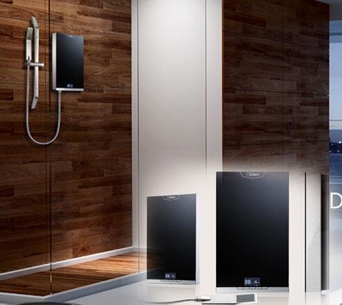 即热式电热水器即开即洗 让你洗澡无忧虑